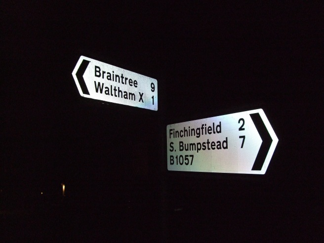 Where I left the ride, the Dynamo continued to Flinchingfield and I tapped out to Braintree.